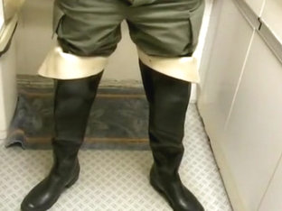 nlboots - hevea waders military trousers
