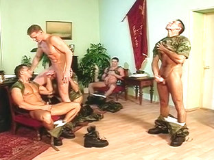 Gay Army Guys Giving and Getting