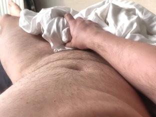 Morning wood, jerkoff, moaning and cumming