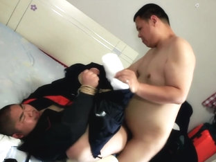 Sexy Asian Bear from Beijing - The Plumber HD Version-(No mask)