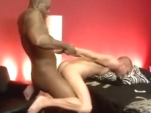 Huge black master and tiny white fetish