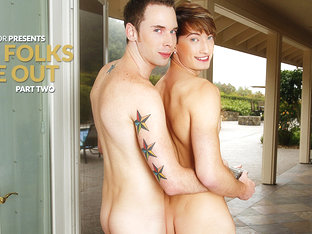 Tripp Townsend & Damian Black in My Folks Are Out, Part Two XXX Video