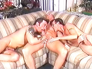 Awesome Gay Oral And Anal Threeway Sex