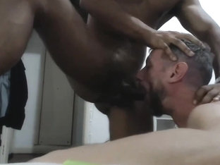 Brazilian master bigcock and slave on cam 3