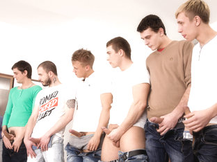 Chris Hollander & Marcos Rue & Tony & Adam Black in Gaykakke #02 Video - MaleReality