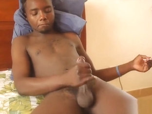 African Boy Paul Jacking Off