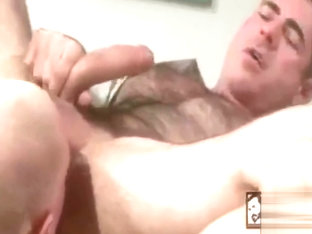 Hot mature studs fuck each other