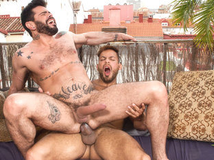 Viktor Rom & Mario Domenech in Men of Madrid, Scene #04 - HotHouse