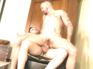 Latin bear casting couch and cumshot