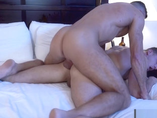 From Jacuzzi to Moaning City - These guys know how to massage that ass from the inside