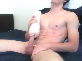 Cute Boy Fleshlight Pleasure