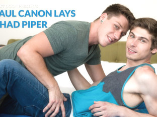 Paul Canon & Chad Piper in Paul Canon Lays Chad Piper - NextDoorBuddies
