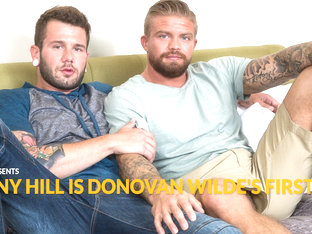 Johnny Hill & Donovan Wilde in Johnny Hill is Donovan Wilde's First Fuck - NextDoorBuddies