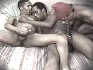 Triple Chocolate: Vintage Black 3somes