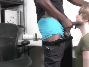 Cute twink fucked by a police officer after getting caught
