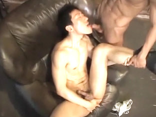 Horny male in best blowjob, hunks homo adult scene