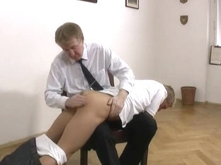 Crazy homemade gay movie with BDSM, Spanking scenes