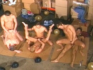 Warehouse Full Of Dirty Gay Fuckers
