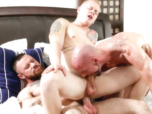 Leo Luckett & Mitch Vaughn in Daddy Times 2 - IconMale