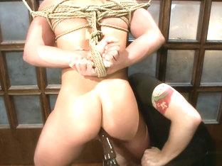 Jett tied and edged