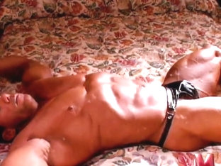 Ripped Bodybuilder Stud Posing For You