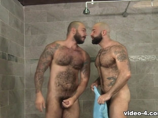 Atlas Grant & Julian Torres in Wet Bears - PrideStudios