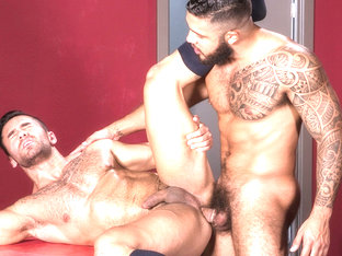 Bruno Bernal & Ryan Cruz in High n' Tight, Scene #02 - RagingStallion