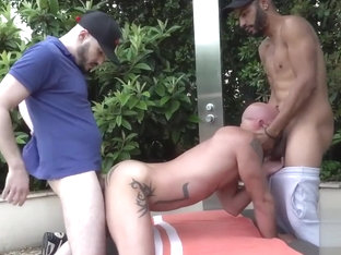 Monster Cock Threesome