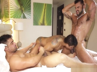 Rogan Richards fucks Diego and Wagner