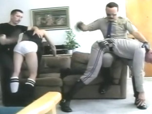 Join the cops and spank naughty boys