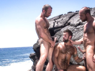 Jake Deckard & Steve Cruz & Collin O'Neal in Mirage, Scene #07