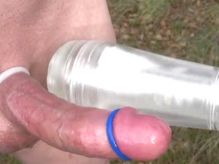 Fleshlight Cock Milking Spin Outdoors