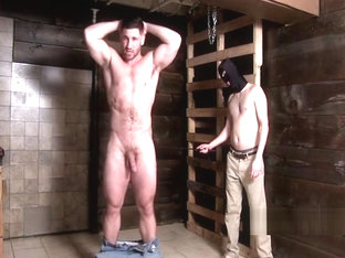 Muscleman spanked