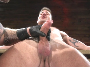 Colby Jansen,Sean Maygers in Newcomer Sean Maygers Gets Bound and Fucked By Huge Stud Colby Jansen.