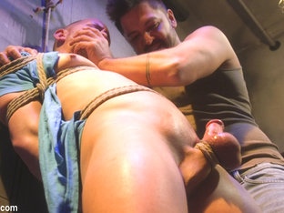 Brodie Ramirez in Brodie Ramirez Gets Edged in the Alley - BoundGods