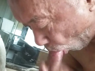 Chinese Grandpa Fucked by Daddy