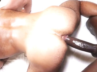 Bareback - Stud Takes Big Black Cock