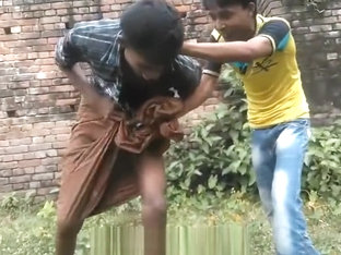 indian boy stripped by friends