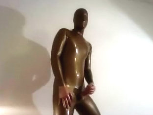 Golden Rubbersuit