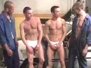 Exotic male in fabulous fetish, group sex gay sex movie
