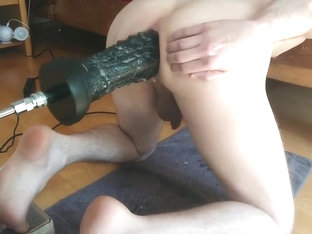 This is MrHankeys real bad Dragon XL on fucking machine Anal Fisting Twink