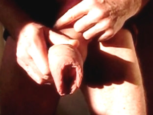 Foreskin Movement With Cumshot