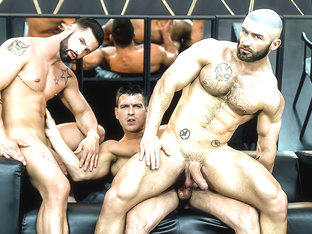 Francois Sagat & Paddy O'Brian & Sunny Colucci in Dream Fucker Part 3 - DrillMyHole