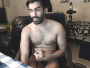 Hot hairy Indian cumshow