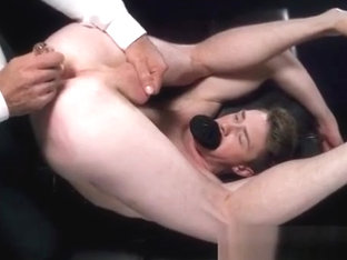 Submissive Blonde Teen loves daddys toys