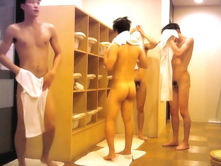 0063 Handsome Japanese In Locker Room