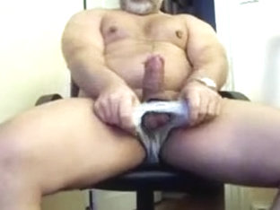 Incredible male in crazy handjob, bears homosexual adult clip