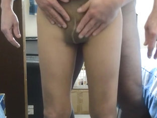 More New Cock Play in Pantyhose
