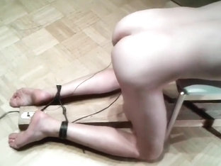 Electric Torture cock to ass cbt