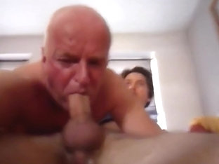 Grandpa With Twink Deep throat